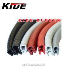 U Channel Edging Trim rubber for sheet metal