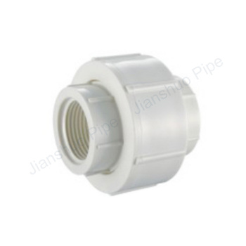 UPVC BS thread water system connection pipe fitting PVC female union