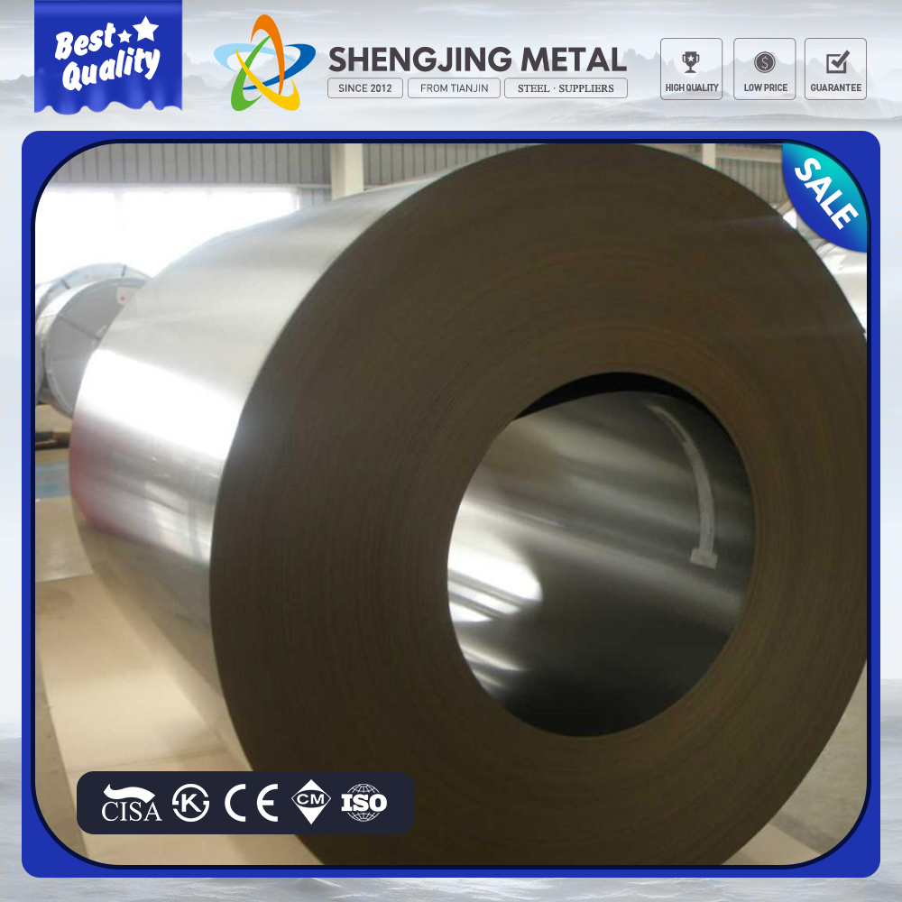 cold roll 201 304 316 317 410 420 430 stainless steel coil made in TJSJ group