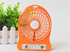 2016 USB Mini Portable Electric LED Portable 4-inch 3 Speeds Rechargeable Desktop Cooling Operated fans