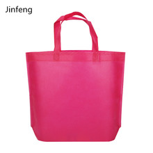 Colorful Handle Non Woven shopping tote bag for promotional