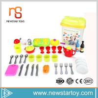 guangdong kids tools 42 pcs personalized logo kitchen toy for sale