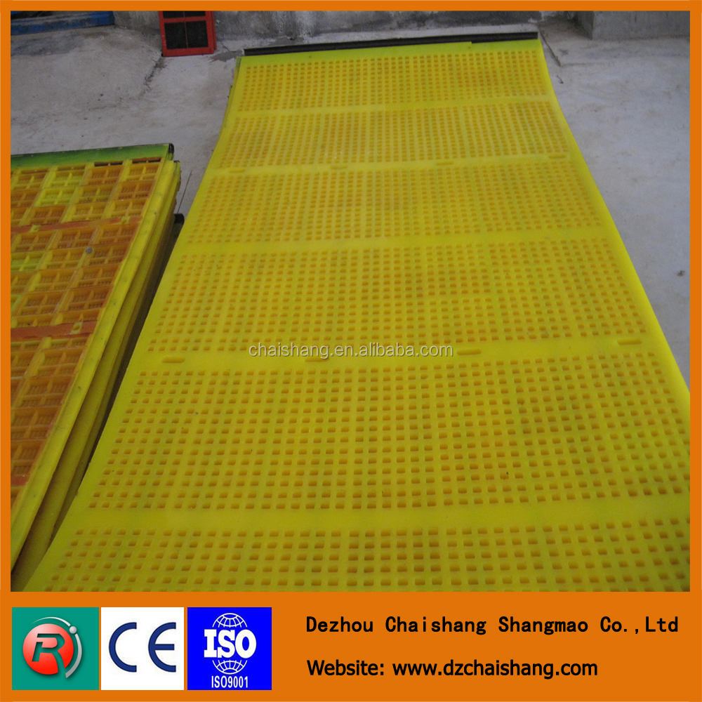 China professional sieving crush stone vibrating mine screen mesh
