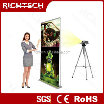 New design of RichTech promotion banner for exhibition, advertising etc