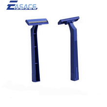 AK1005 excellent quality twin blade blue handle one time use razor