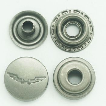 Plating Technics And Brass Material China Snap Fasteners