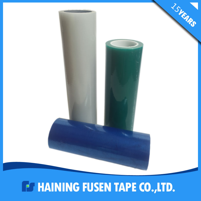 pe no glue self adhesive electrostatic protective film in roll
