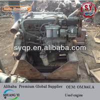 used engine om366LA for mercedes benz truck