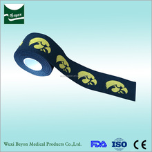 2017 Best selling product top quality custom logo printed sports tape