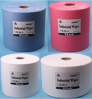 Super absorbent multi-purpose nonwoven fabric / cleaning wipes