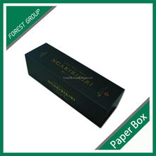 HIGH END PRINTING FANCY GIFT BOX MATT BLACK CARDBOARD GIFT BOX