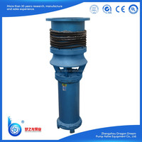 Vertical centrifugal submersible deep well water pump