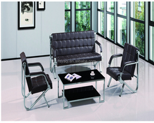 Modern design commercial PU/PVC leather office sofa set YA-321
