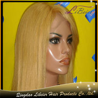 new design high quality silky straight 16inch unprocessed virgin milky way hair wigs