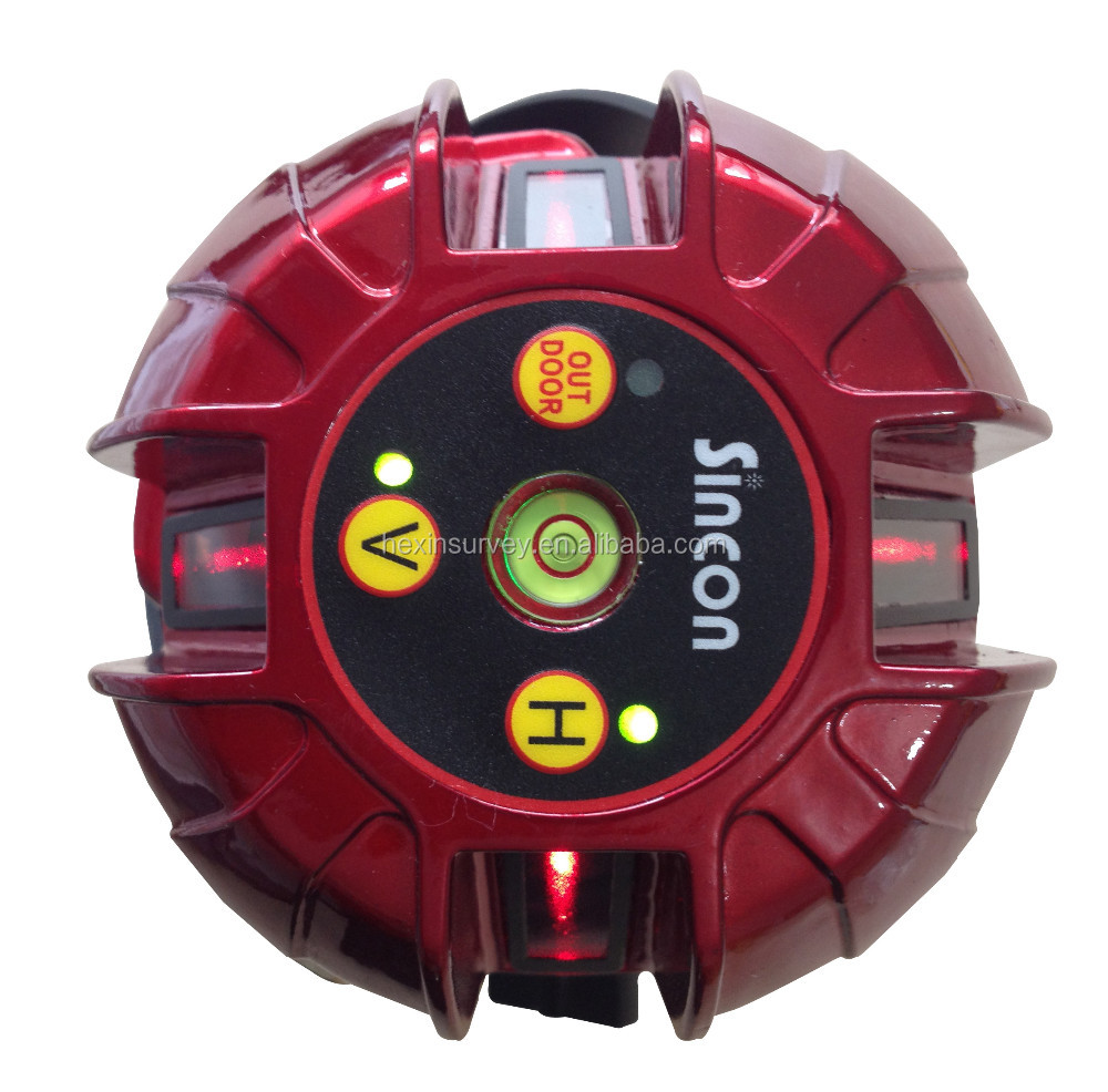 SINCON SL222 5 watt laser pointer for construction 4 V line level