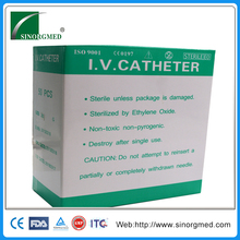 Short-term Medical Plastic Venous 22G I.V. Cannula