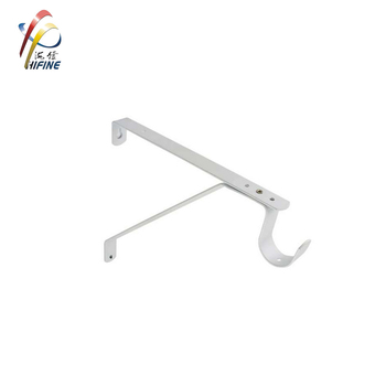 Heavy Duty Wall Shelf Bracket with Hook