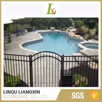 Dependable Supplier Aluminum Strong Customizability Wrought Iron Fence And Gates