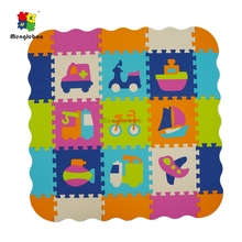 Alphabet Numerals Car Plane Bike boat Baby Kids Play Mat Multicolor Children Soft Floor Crawling Rugs Mini EVA Foam Mat Toys