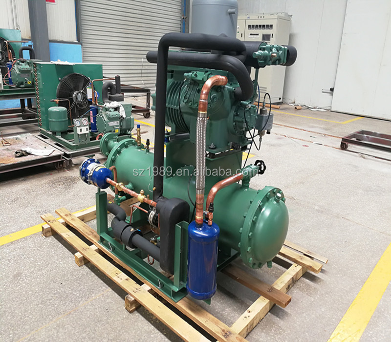 CE Certificate Water Cooled Compressor Condensing Unit