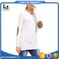 best wholesale international elbow patch white long sleeve tshirt