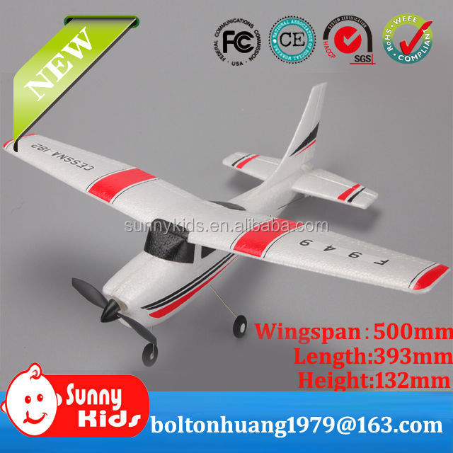 Newest 3CH Cessna 182 2.4G RC plane for beginners F949