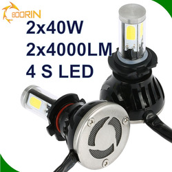 led conversion kit 12v 35w55w hid halogen led replacement h4 h7 h8 h9 h10 h11 h13 h16 9004 9005 9006 9007 led headlight for car