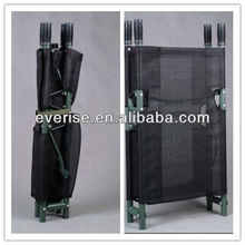 evacuation disaster litter military emergency rescue mesh fabric aluminum alloy folding stretcher