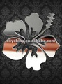 Acrylic Mirror hibiscus flower mirror sticker