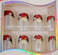 plastic artificial nails cover finger