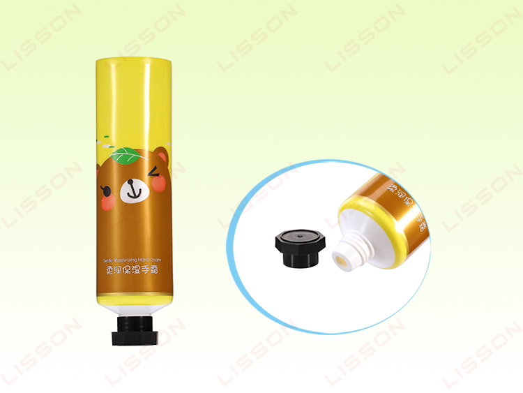 D35mm Round Hand Cream Eight Angle Plastic Cosmetic Tube