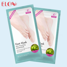 Olive nourishing care foot mask Deep repair to improve dry skin Foot mask 3 pairs