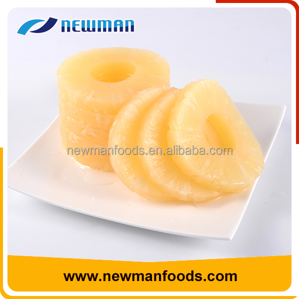 Wholesale sweet pineapple slices 425g healthy canned pineapple thailand