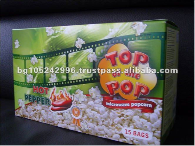 Top of the Pop Choc and Caramel Microwave Popcorn