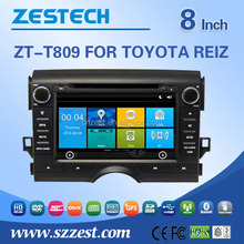 Clear Low Price For toyota Reiz Car Sat Navi headunit Auto Audio Stereo Multimedia DVD Player GPS Navigation for Honda Elysion