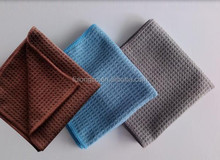 Auto Detailing Waffle Weave Towel Microfiber Cleaning Cloth