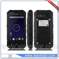 4 inch small rugged waterproof mobile phone shockproof outdoor cell phone 1gb+8gb in China