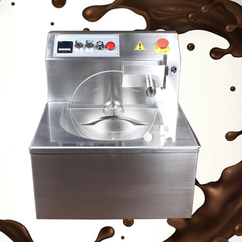 China Supplier Multi-function 8/15/30/60/100 kg Per Hour Capacity Chocolate Melting/Tempering/Coating Machine With Cheap Prices