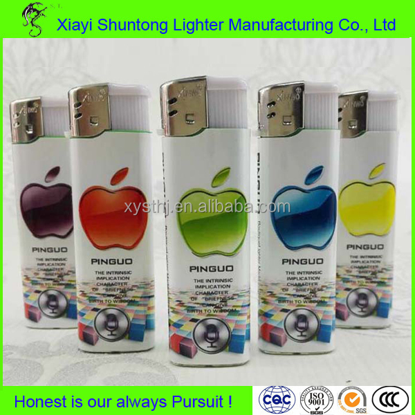 Factory cheap disposable plastic top sale ABS plastic gas refill custom lighter