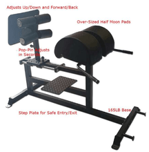 bodybuilding fitness equipment names used gym equipment GHD