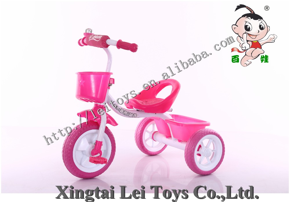 Wholesale exercise safety three wheel child tricycle metal balance bicycle,new material wheel baby bike tricycle for kids