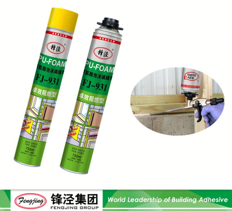 Liquid glue super quality pu construction foam sealant manufacturer sale