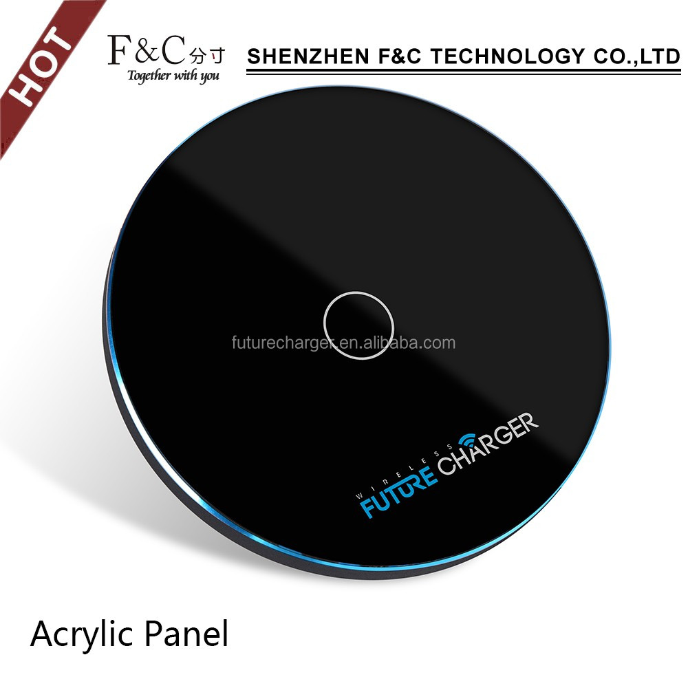 New hot selling Qi fast wireless charger for ipad mobile phone qi wireless charging pad