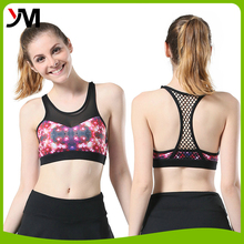 High quality fitness women active wear loose fitted design custom sexy gym yoga tank tops
