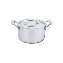 Beautiful design factory price best stainless steel dutch oven pots and pans cookware with handle
