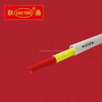 Liantong cheap PVC conduit pipe manufacturing, pvc electrical conduit plastic pipes made in China