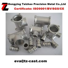Precision casting Stainless steel valve cover 316L valve part