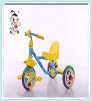 2016 hot children tricycle for sale with colorful CP wheel