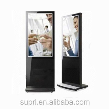 "55 inch free stand digital signage with digital signage player 55"" digital kiosk totem"