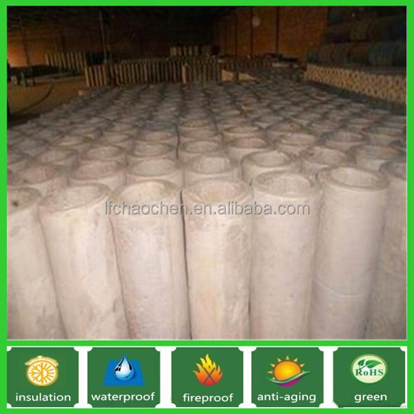 high temperature aluminium silicate pipe insulation